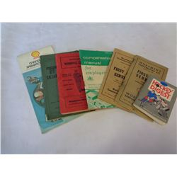 LOT OF MANUALS, MAPS, AND BOOKLETS