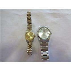 2 REPRODUCTION ROLEX WATCHES