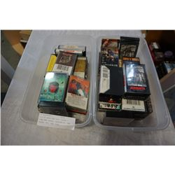 LOT OF ROCK AND ROLL TAPES - GUNS AND ROSES, AEROSMITH, VAN HALEN, ETC