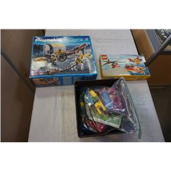 LOT OF LEGO AND PLAY MOBIL