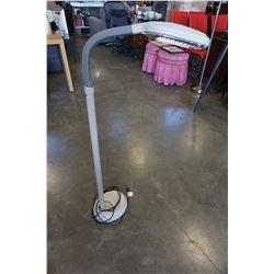 FLOOR LAMP W/ FLEXIBLE NECK