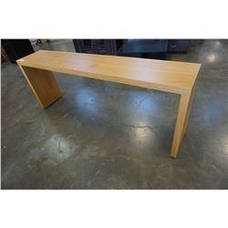 PINE ROLLING SOFA/HALL TABLE