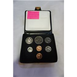 1980 DOUBLE CENT UNCIRCULATED CANADIAN COIN SET