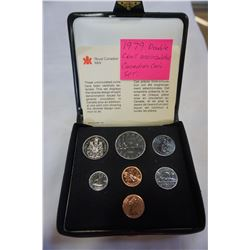 1979 DOUBLE CENT UNCIRCULATED CANADIAN COIN SET
