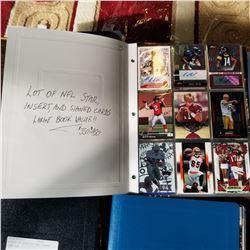 BINDER OF NFL FOOTBALL CARDS