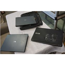 3 UNTESTED LAPTOPS