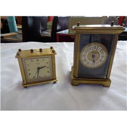 MAUTHE AND BLESSING CARRIAGE CLOCKS