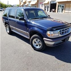 1996 FORD EXPLORER, 5 LITRE AUTOMATIC, 4X4 AIR CONDITIONING, WITH 2 KEYS AND 2 FOBS, 2 MANUALS, REGI