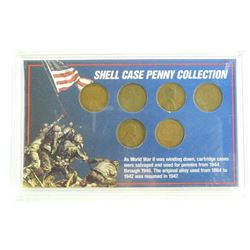 WWII US Shell Case Penny Collection