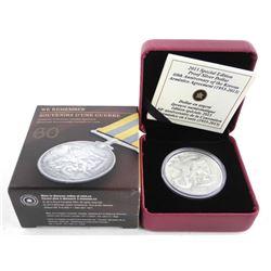 Proof Silver Dollar Coin - Armistice Korean Agreem