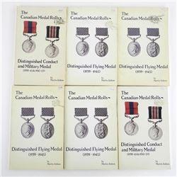 Estate Lot (6) The Canadian Medal Rolls 1939-1953