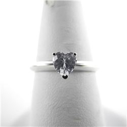925 Silver Sweetheart Ring with Heart Swarovski el