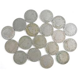 Lot (18) US (V) Nickels