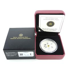 .9999 Fine Silver $20.00 Coin 'Crystal Snowflake T