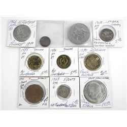 Estate - Grouping (10) World Coins: Australia, Ger