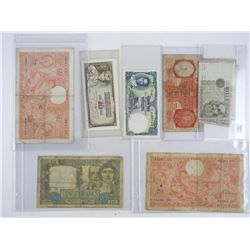 Estate - Collection World Notes Yugoslavia, Italy,