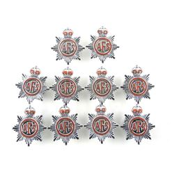 Lot (10) Boxes of Single Kings Crown British Aux.