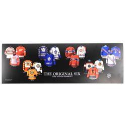 "Original Six Litho Jerseys 10x30"""