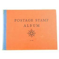 Estate 1935 Vintage Stamp Album with Stamps