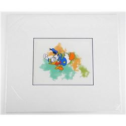 """Disney - Donald Duck 16x18"""" Matted, Hand Painted"""