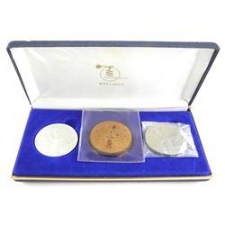 Wellings Mint - Rexdale Ontario 3 Coin/Medal set -
