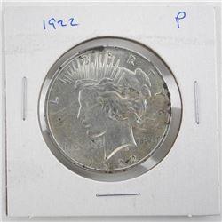 1922 US Peace Dollar MS-63