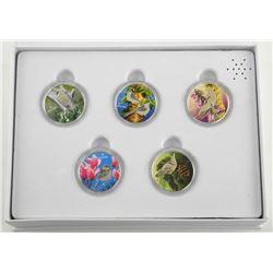 RCM 5 Coin Set .9999 Fine Silver $10.00 'Birds