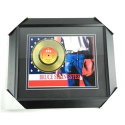 BRUCE SPRINGSTEEN Born in the USA Gold Record Gall