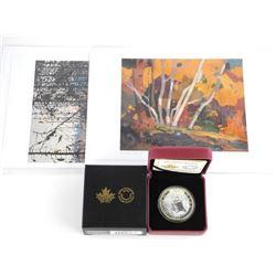Tom Thomson (1877-1917) .9999 Fine Silver $20.0 Co