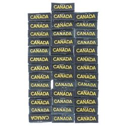 Lot (40) Pairs Canadian Forces Canada Titles