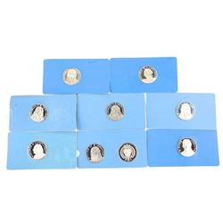 Group of (9) 925 Sterling Silver Artistic Medals 3