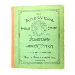 Estate 1939 international Stamp Album and Stamps