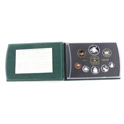 RCM Proof Coin Set Silver - 2001