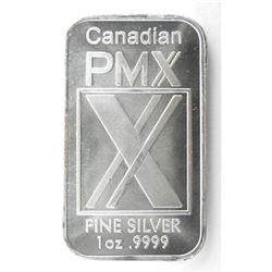 .9999 Fine Silver 1oz Bar