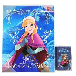 Disney .9999 Fine Silver Coin 'Anna' Plus Canvas W