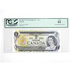 Bank of Canada 1973 * 1.00 Replacement (AA) NEW 61