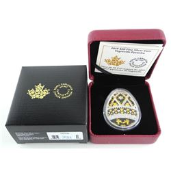 2019 .9999 Fine Silver $20.00 Coin 'Vegreville Pys