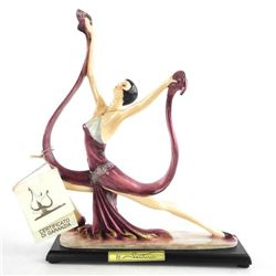 Santini Italy - Sculpture, Dancing Lady.