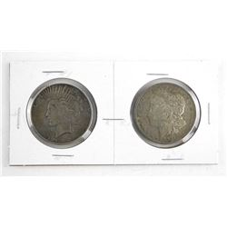 Pr. USA Silver Dollars: 1921 and 1922