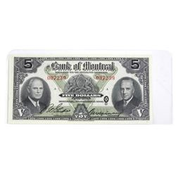 Bank of Montreal 1944 5.00 AU55.