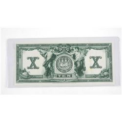 Engravers Proof - Reverse of Note, Bank of Commerc