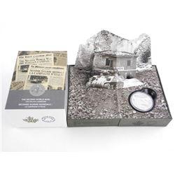 .9999 Fine Silver $20.0 Coin 'The Italian Campaign
