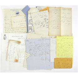 Scarce - Collector Letters, Collection from 1800s