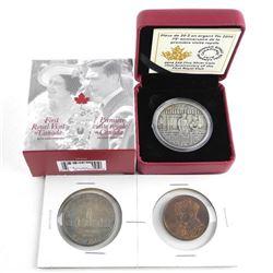 Royal Visit - 1939 Silver Dollar and Medal Plus .9