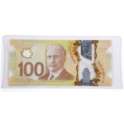 Bank of Canada 2011 One Hundred Dollar Rotator Not
