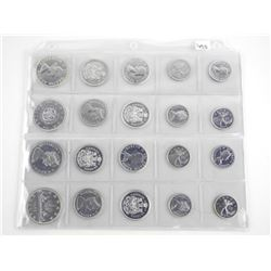 Grouping of (20) Canada Silver Coins