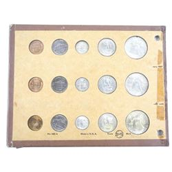 Lot of U.S. 1951 'Year Sets' P-D-S- 15 Coins 'Scar