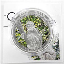 925 Silver Piliocolobus Foai 1000 Francs CFA 2013.