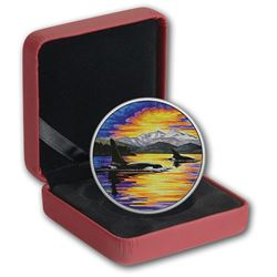 $30 Fine Silver Coin - Animals in the Moonlight: Orca. Sold Out. Original Issue Price: $189.95.