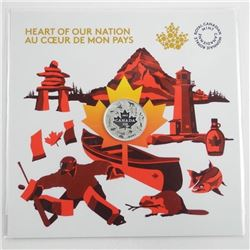 2017 Heart of Our Nation .9999 Fine Silver $3.00